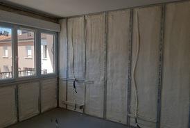 Isolation de murs